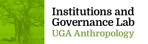 Institutions and Governance Lab: UGA Anthropology